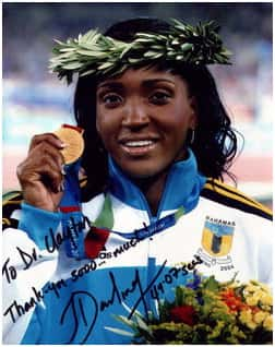 Girl with the medal